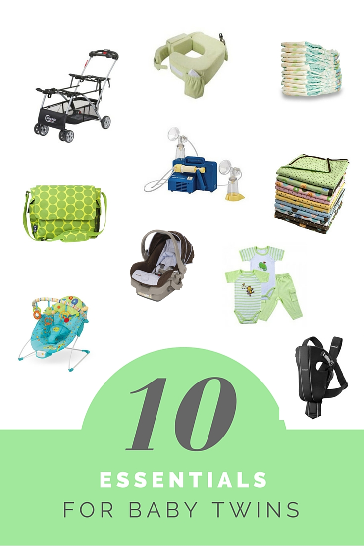 If you are a mom who is expecting twins, and you're wondering what supplies you really need, this list of suggestions is what we used to get by with our newborn twins. Read these before buying a double stroller that connects to the car seats because the one I used made my life so much easier. Ten of my favorite products for newborn twins.