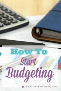 How to Start a Simple Budget