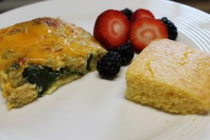 Meatless Monday Vegetarian Chile Rellenos Casserole