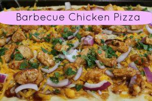 Barbecue Chicken Pizza Recipe Homemade