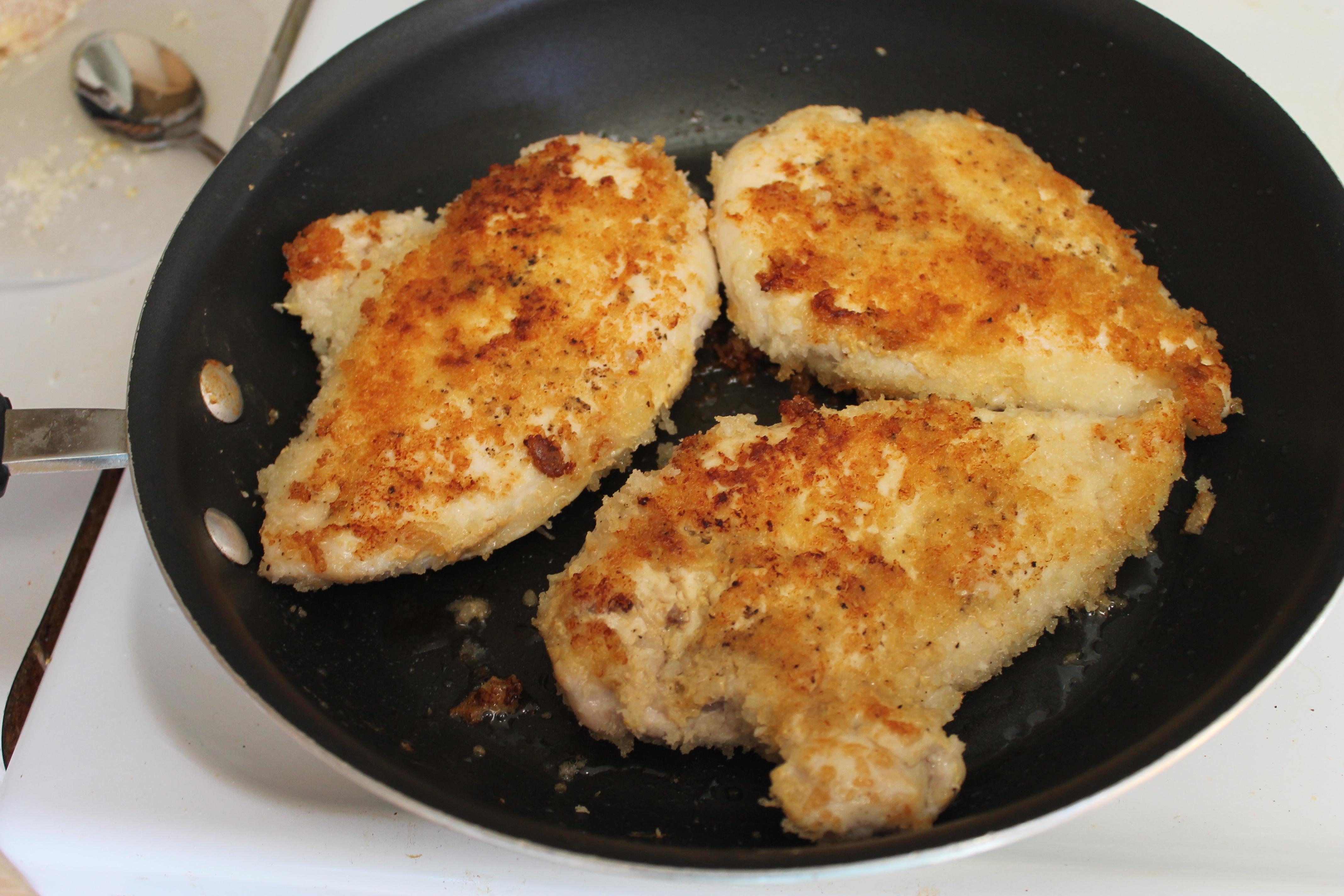 breaded chicken recipe
