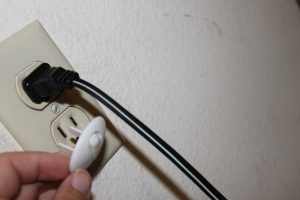baby proofing electrical outlets