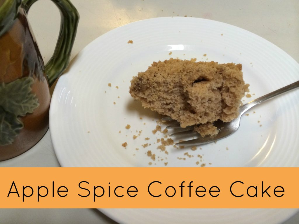 apple spice coffee cake recipe