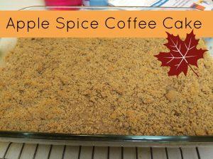 Apple Spice Coffee Cake Recipe
