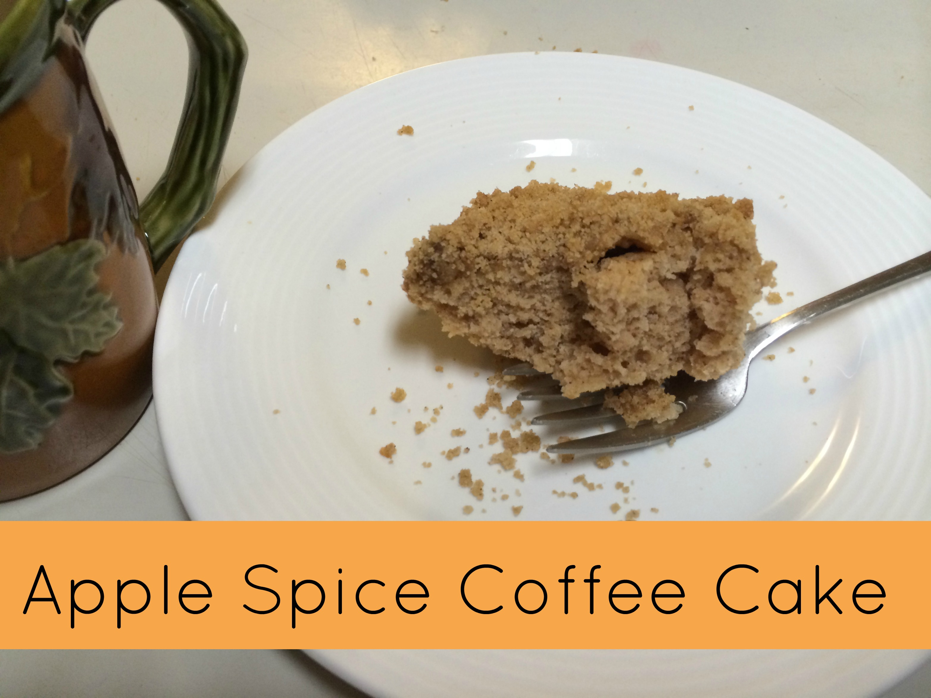Apple Spice Cake Using Applesauce