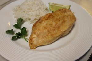 Chipotle Lime Chicken Dinner