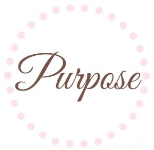 One Word: Purpose