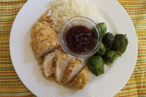 Cracker-Crumb Breaded Chicken