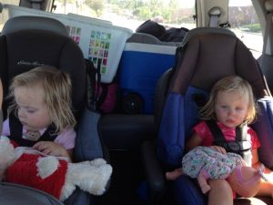 road trip with twins