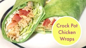 Crock Pot Chicken Wrap Recipe