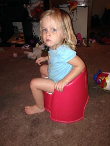 Losing the Potty Training Battle