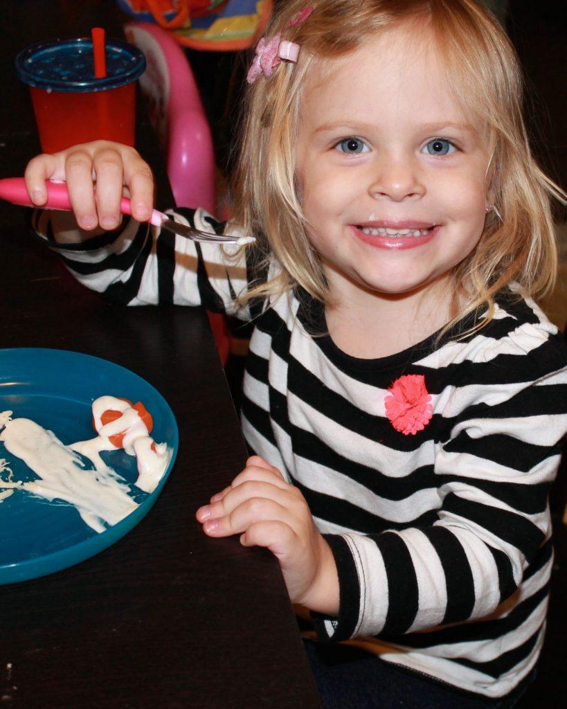 Maddie Happy Eater 2