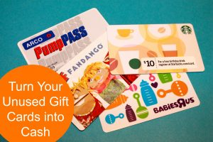 gift cards to cash