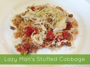 Lazy Man's Stuffed Cabbage