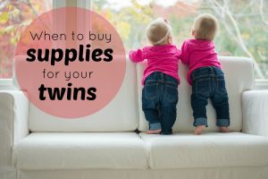 When Should You Start Buying Supplies for Twins?