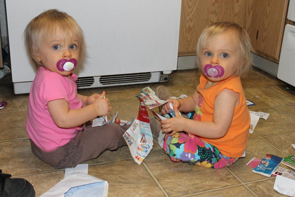 raising twins is awesome