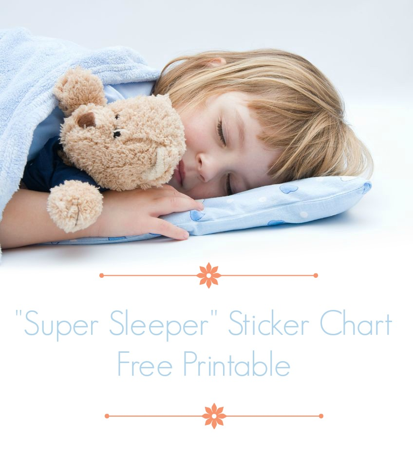 Bedtime Reward Chart when a Child Wont Stay in Bed Simply Sweet Days – Printable T Chart