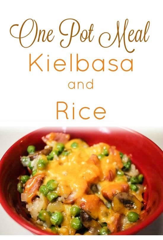 one pan kielbasa and rice
