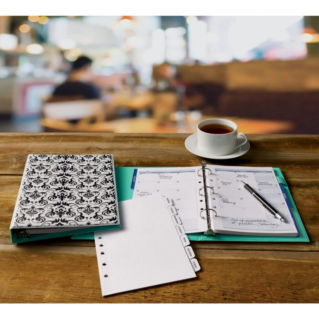 paper organization help you keep track of important dates