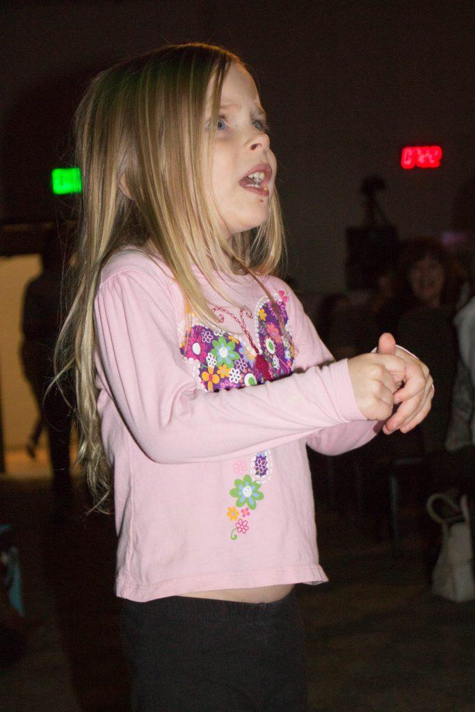 Madeline at the Jana Alayra concert