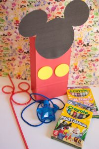 Mickey Craft Bag Activity