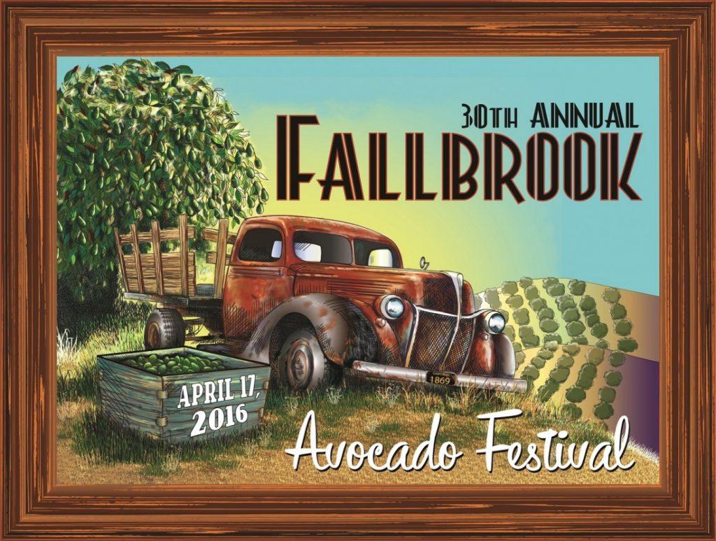 Avocado Festival Logo