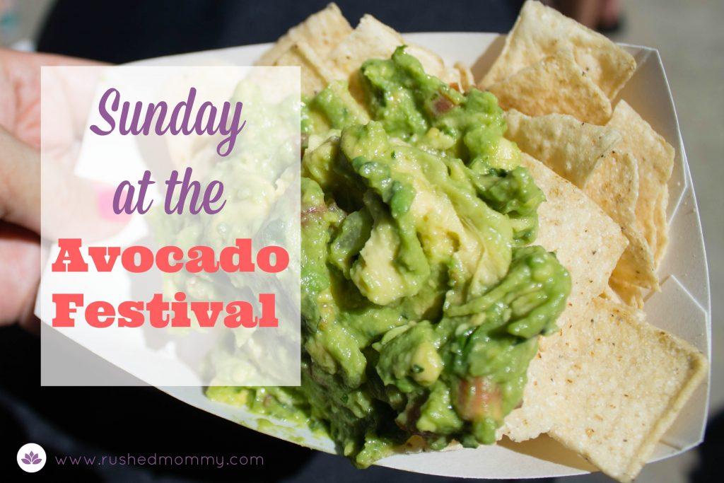 Sunday at the avocado festival