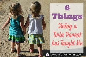 6 Things I'm Learning as a Twin Parent