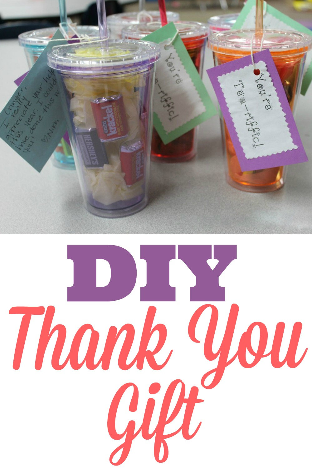 diy thank you gift for volunteers simply sweet days