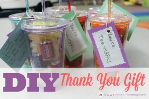 DIY Thank You Gift for Classroom Volunteers