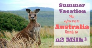 Summer Vacation and a Chance to Win a Free Trip to Australia Thanks to a2 Milk®!