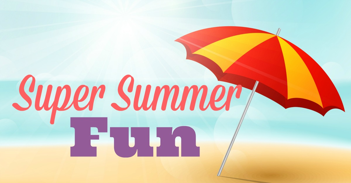 super summer fun series graphic