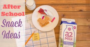 Easy After-School Snack Ideas and Printable Snack Menu