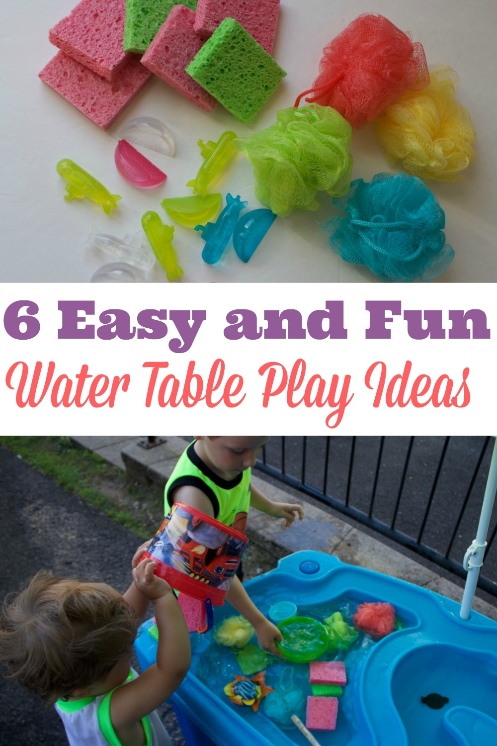 Outdoor Toys For Toddlers And Preschoolers : Water table play ideas super summer fun series simply
