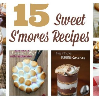 15 sweet s'mores recipes that are great for a party, and you can make them without a campfire! You'll find plenty of tasty treats here, from dip to pie to cupcakes to brownies. These ideas are great for an indoor or outdoor dessert bar.Most are gone in a few bites! My favorites are the pudding cups and the to-go party favors.