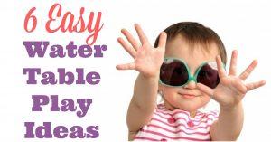 Water Table Play Ideas | Super Summer Fun Series