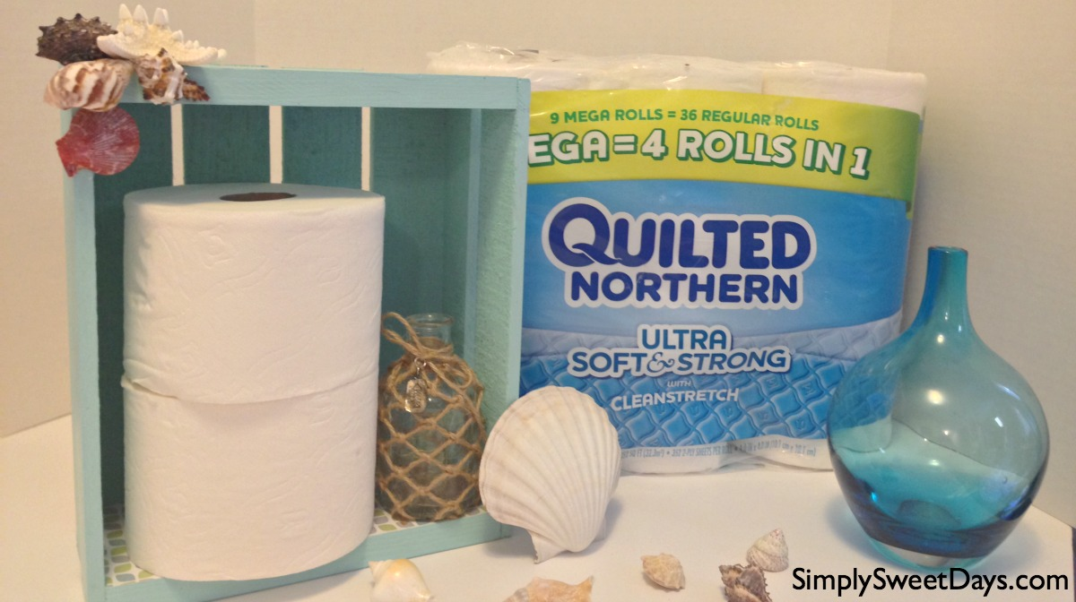 beach_themed_bathroom_organizer_and_toilet_paper_holder