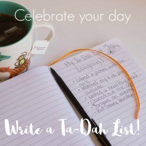 Rewriting My To-Do List into a Ta-Dah List