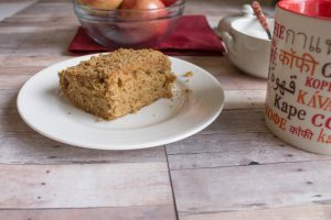 Easy Apple Cinnamon Coffee Cake