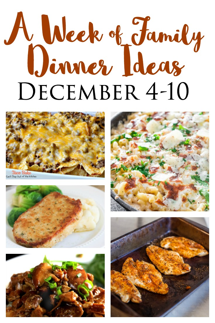 This Weeks Dinner Ideas For A Busy Family Features An Easy Oven Baked Chicken Quick Crockpot Recipe And Cheap Mexican Casserole