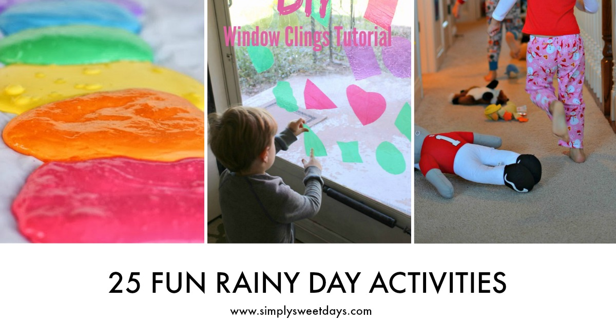 fun indoor activities for a rainy day