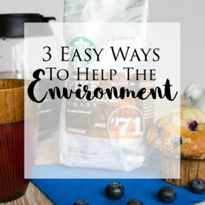 3 Easy Ways to Help the Environment