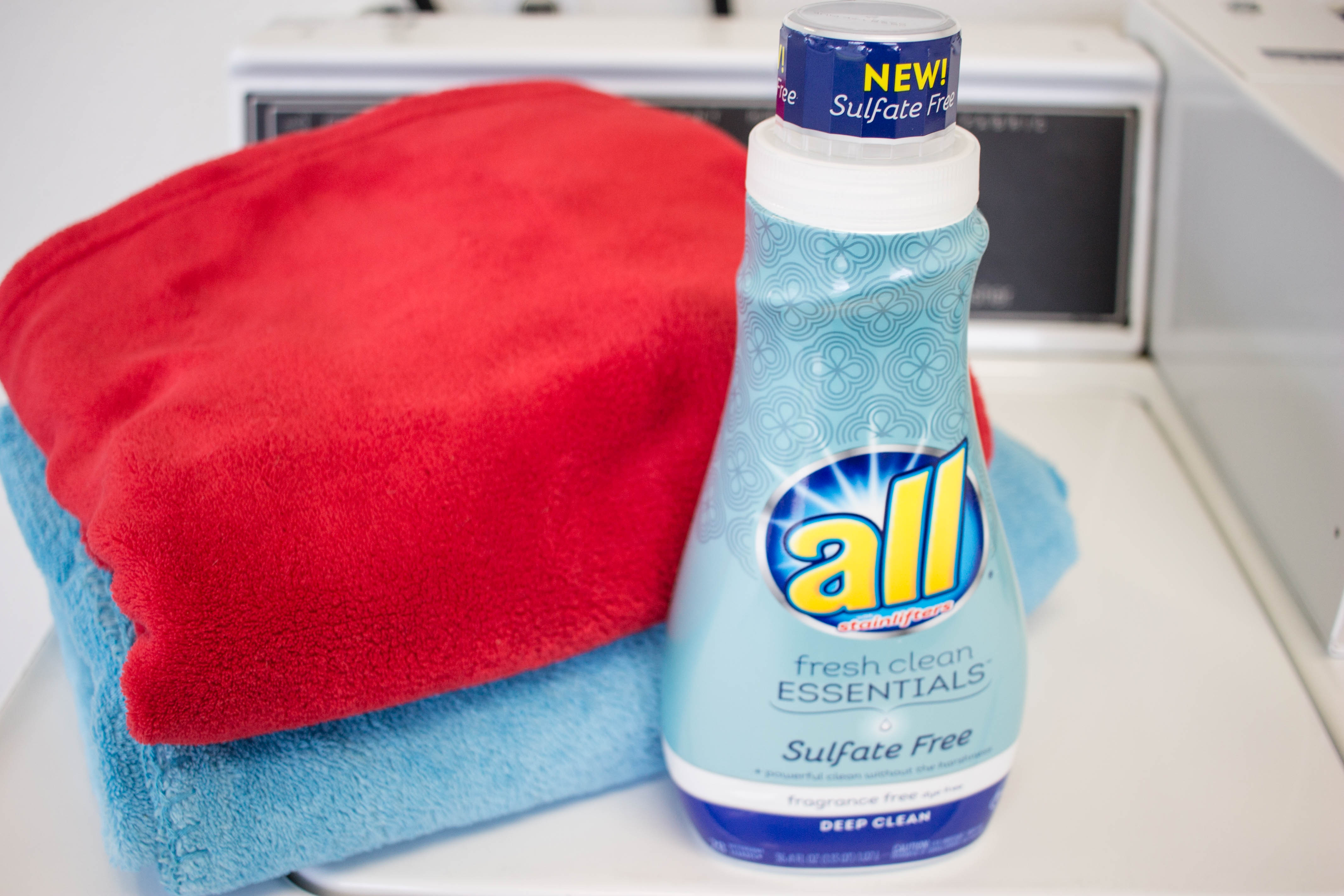 All sulfate free gives your laundry a powerful clean without all the harshness