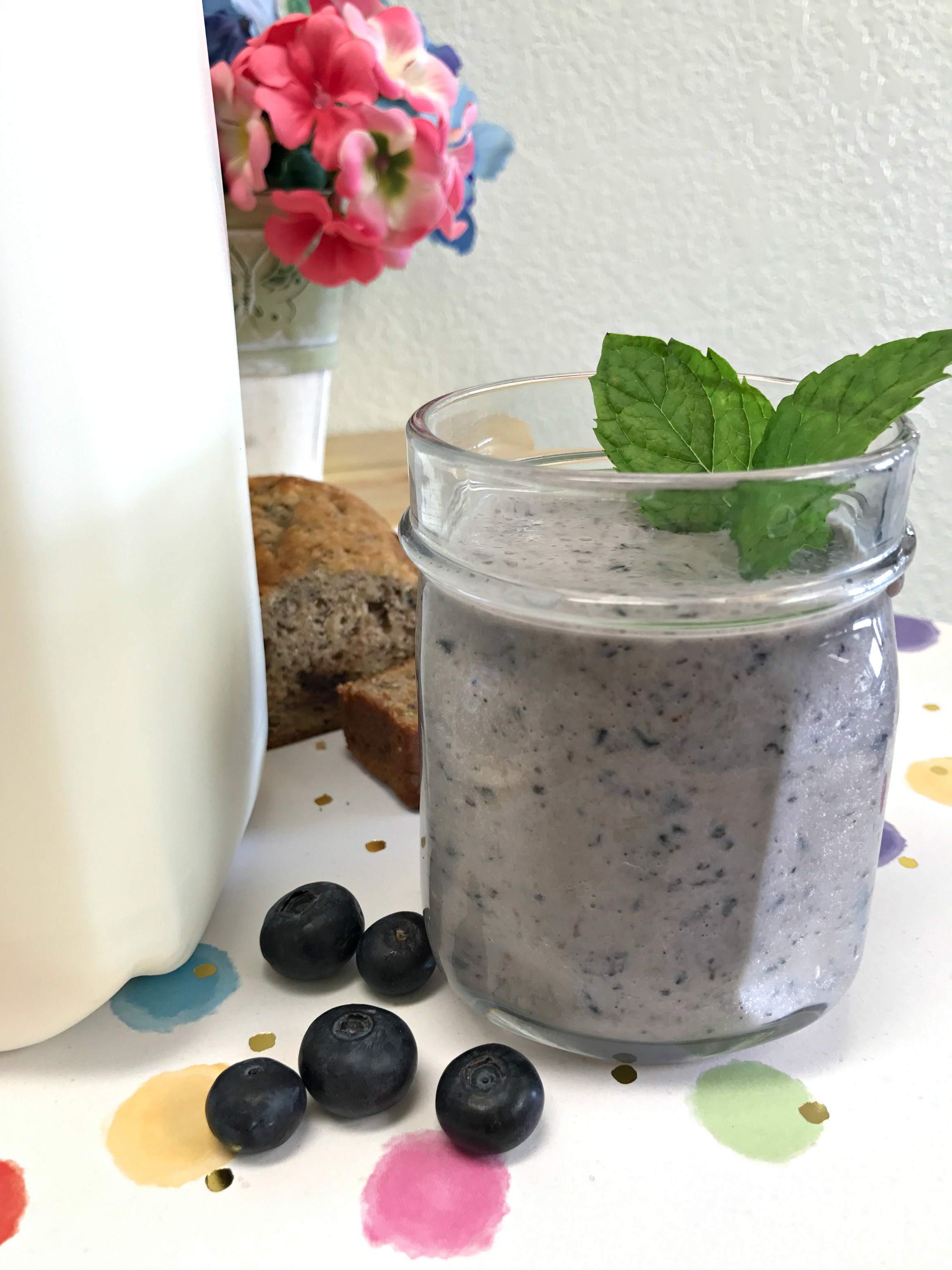 Blueberry Breakfast Smoothie
