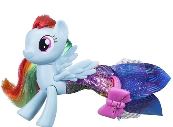 my little pony the movie rainbow dash seapony