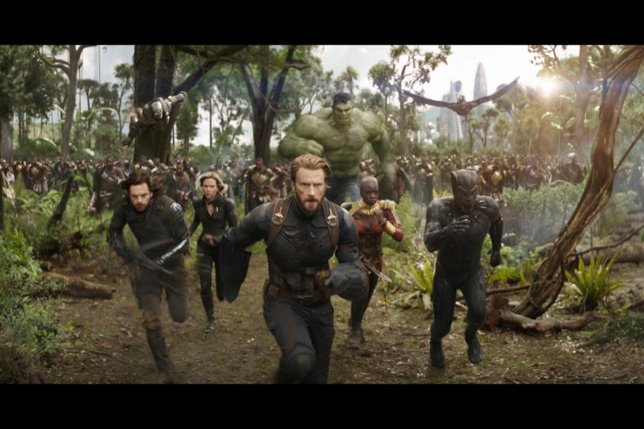 Top Disney Movies Opening in 2018 - Avengers: Infinity War