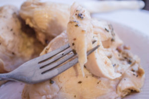 Easy Weeknight Dinner: Poached Chicken