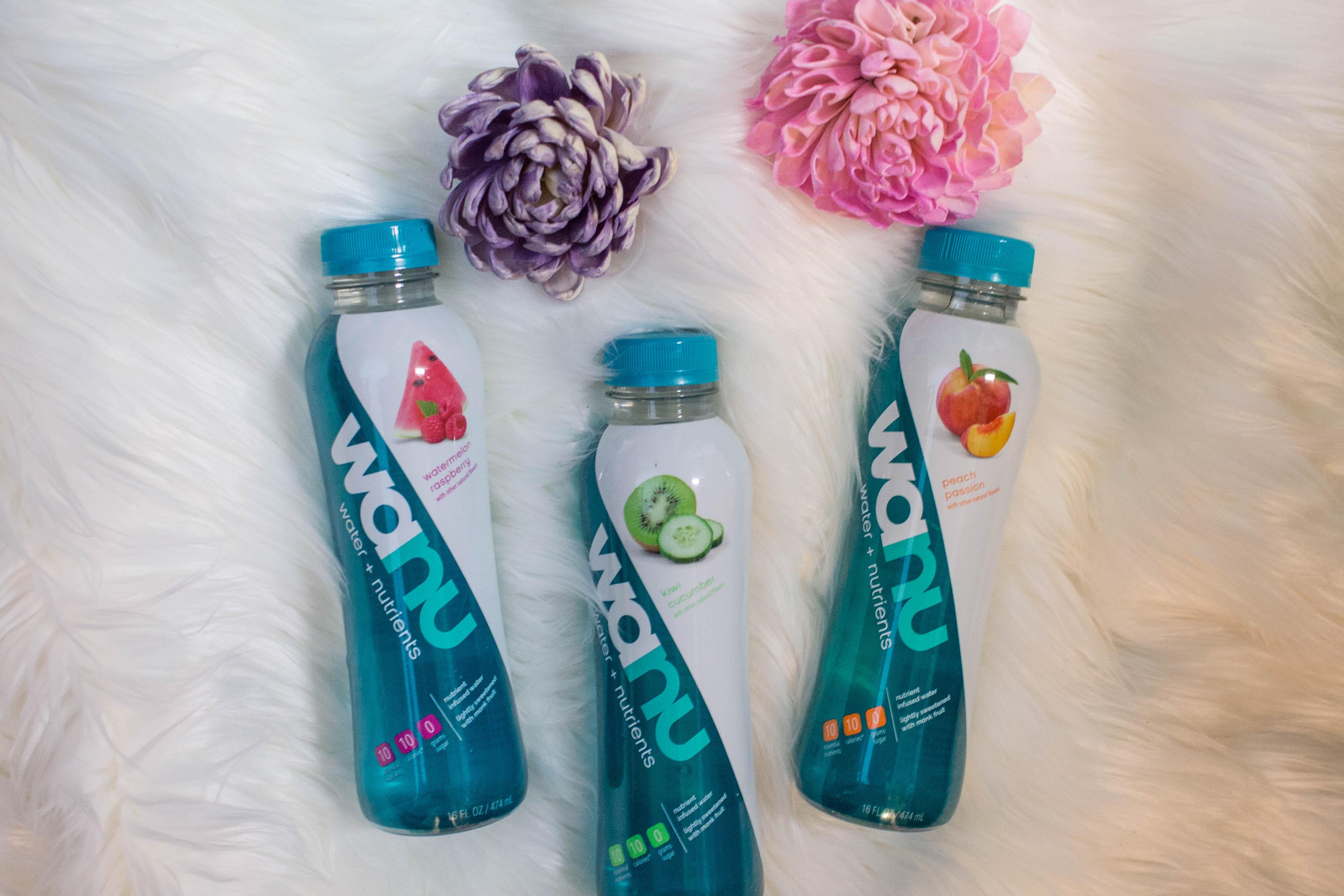 3 wanu water flavors