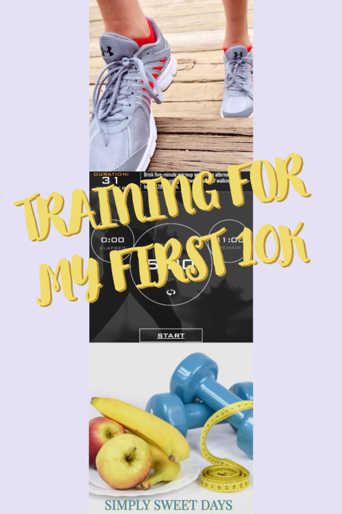 Training for a 10K doesn't have to be scary. I'm using an easy interval program that has an app for my phone, and it's helping me get ready for a 10K!
