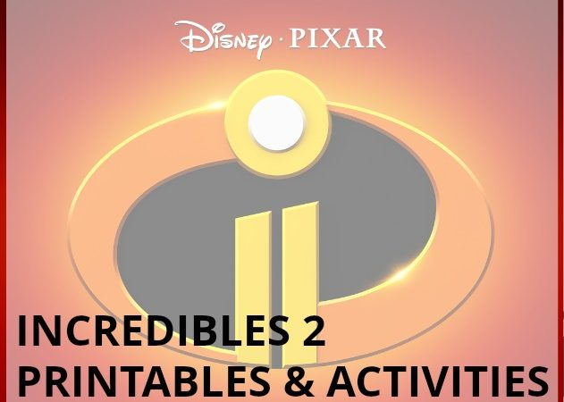 A wide range of activities to go along with the incredibles 2: A craft, coloring sheets, and activity pages.
